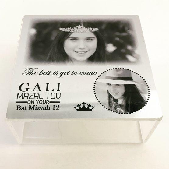 קופסת תכשיטים מתנה לבת מצווה