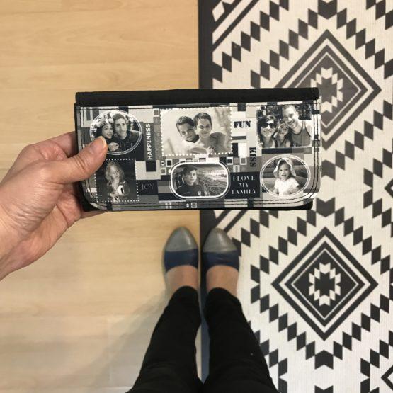 ארנק בעיצוב אישי מתנה מקורית לאישה