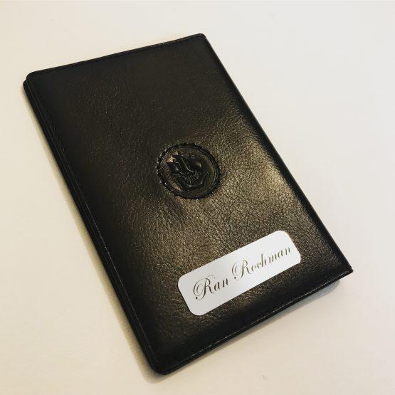 כיסוי דרכון עור איכותי