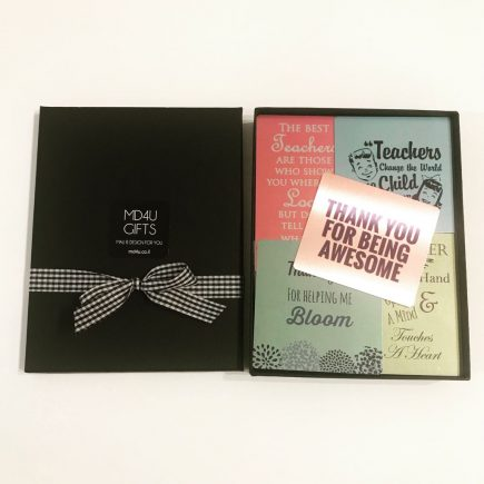 מתנה למורה לסוף שנה