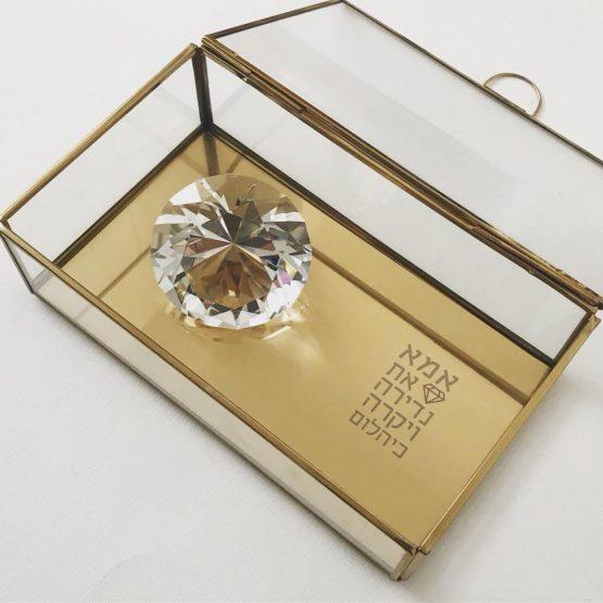 מתנה מיוחדת לאשה קופסת תכשיטים