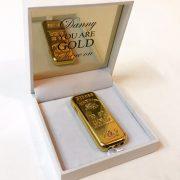 מתנה מיוחדת מצית מטילון זהב